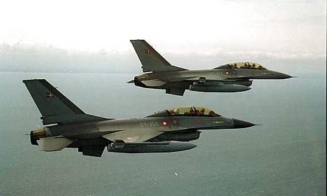 Danish F-16s part of attack that allegedly hit Syrian forces