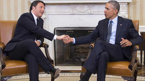 Obama to roll out red carpet for Renzi next month