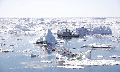 Greenland has record highs as ice melts early