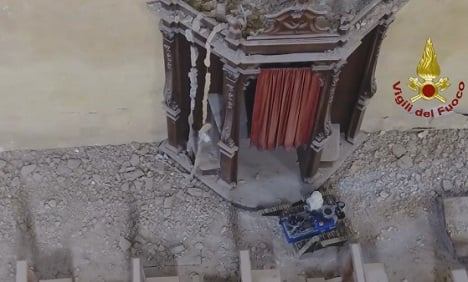 Bots and drones help Italy's post-quake recovery