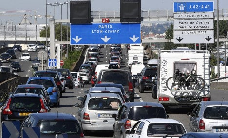 Halloween holiday in France: Traffic nightmares and sun!