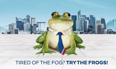 Swap London fogs for Paris frogs: France woos the Brits