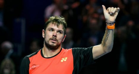 Wawrinka snubs past form to reach Basel second round