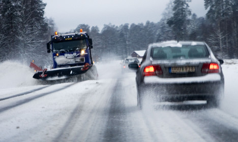 Here's where it could snow in central Sweden this weekend