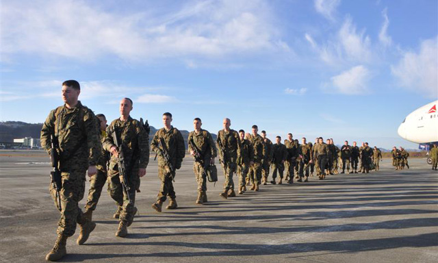 Russia criticizes US troop plans in Norway
