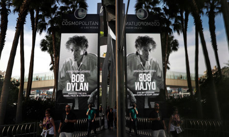 This is Stockholm calling: Where are you, Bob Dylan?