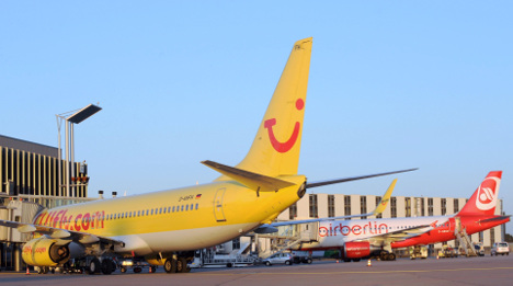 Tuifly and Air Berlin report flight delays and cancellations