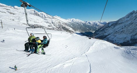 Ten Swiss ski resorts named most expensive in Europe