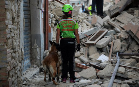 Italy police dismantle two earthquake fundraising scams