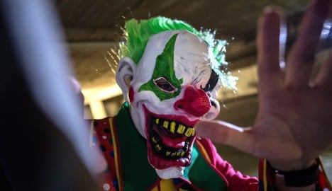 Minister: 'no tolerance' for clowns after chainsaw attack