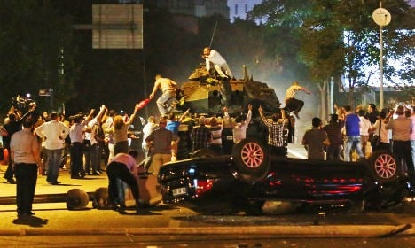Turkey furious at axeing of Swedish coup panel