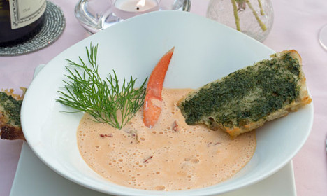How to make Sweden's luxurious lobster soup