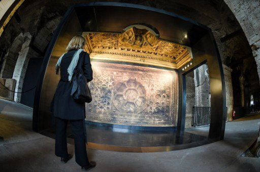 Recreated treasures from Syria and Iraq go on show in Italy