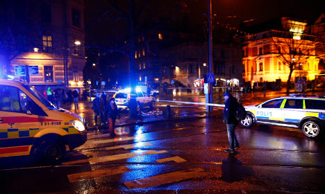 No suspects after shooting in central Gothenburg