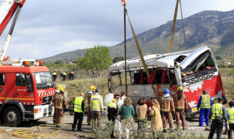 Criminal probe dropped after deadly Spanish coach crash