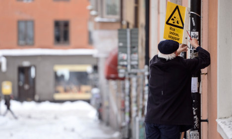 This is how cold it's going to get in Sweden this week