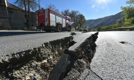 Italy earthquakes made ground move by 70cm, say scientists