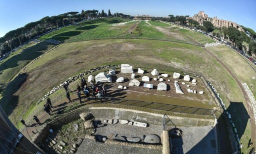 Circus Maximus reopens as Rome frets over vandals