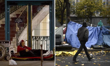 No, migrants aren't stealing beds from France's homeless
