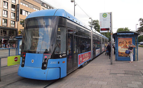 Man attacks teen on Munich tram for looking at crying kid
