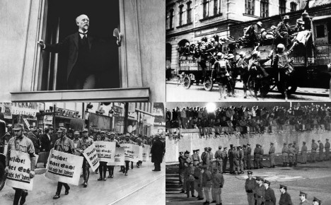 November 9th: the day German history keeps being made