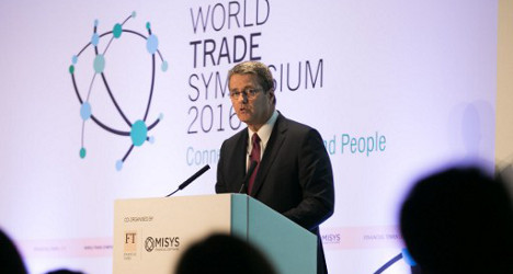 Trade body chief 'ready to work' with Trump