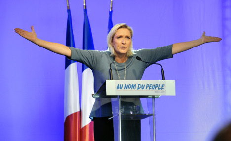 France must face possibility of a 'President Marine Le Pen'