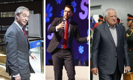 Who's invited to Swedish nationalists' far-right gala?