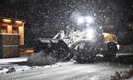 Prepare to be hit by 'snow cannons', Sweden warned