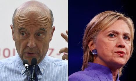 'France is not the US… and I'm not Clinton!' says Juppé