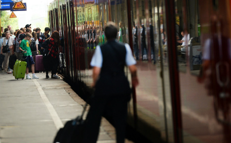 Travelling Germany by train? Better get there early