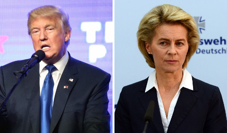 Defence minister to Trump: NATO is no business deal