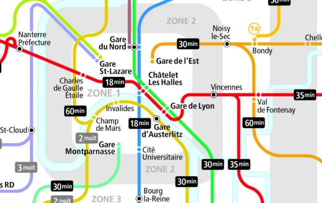 New Year's in Paris: A guide to the free public transport