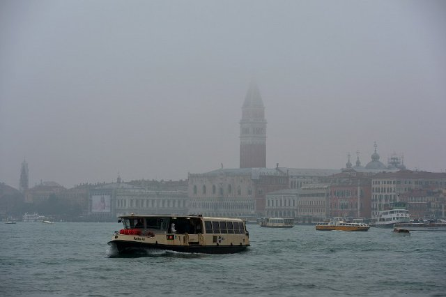 Venice just got its first electric waterbus