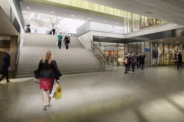 Redeveloped Oerlikon station opens to commuters – and shoppers