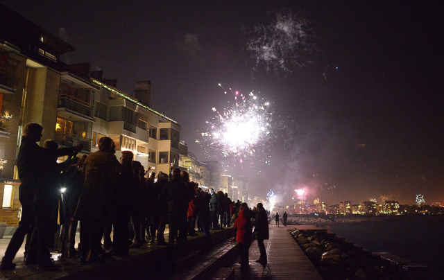 Weather forecast for New Year's Eve in Sweden