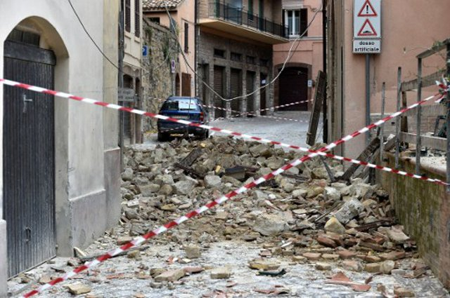 Residents protest post-earthquake rent hikes in central Italy