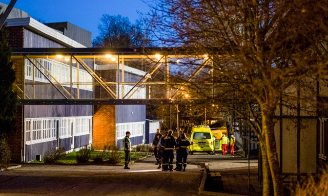 Two dead after stabbing at Norway primary school
