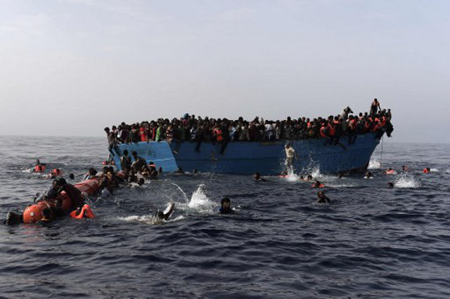 Two dead as over 700 migrants rescued in Mediterranean