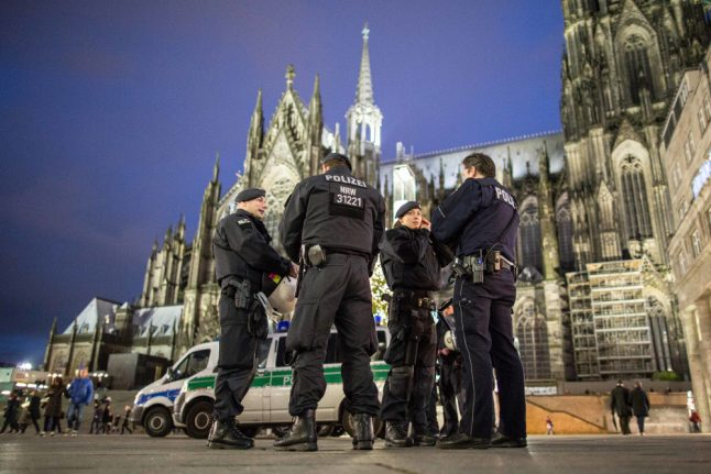 Cologne to have 10 times more police for New Year's Eve party