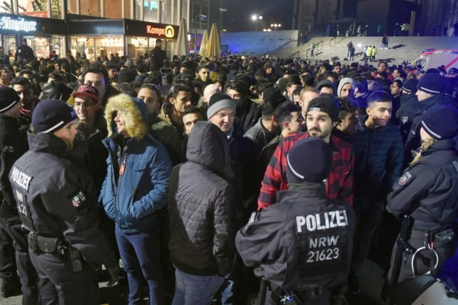 Cologne police now say fewer North Africans ID'd on New Year's Eve
