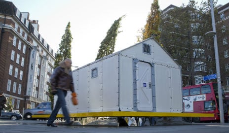 IKEA's refugee hut crowned Design of the Year