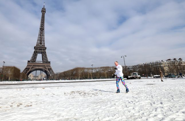 City of White? Snow forecast to fall over Paris on Thursday night