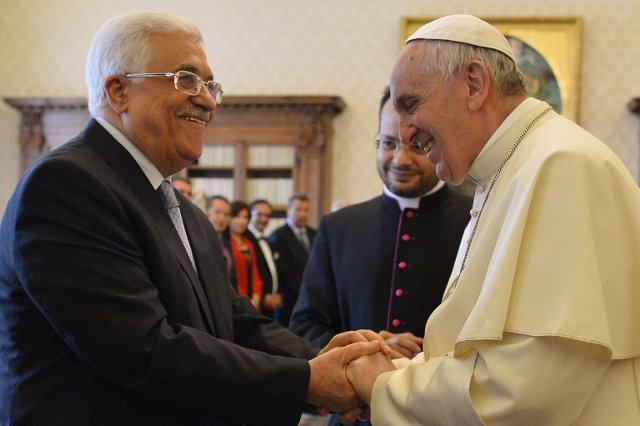 Pope to host Palestinian president Abbas this weekend