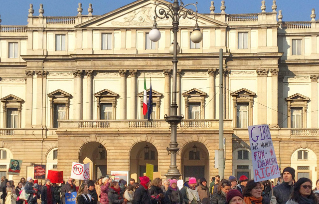Why women need to keep marching in Italy
