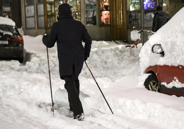 Six things they don't tell you about the snow in Sweden