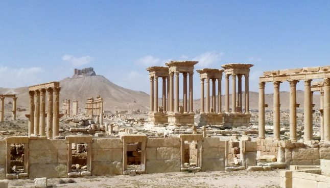 Looted Syrian antiquities for sale in Denmark: police