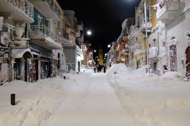 After a weekend of snow chaos, more winter weather on the way for Italy