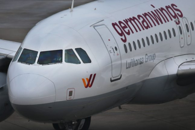 Three hospitalized after mystery smell grounds Germanwings flight