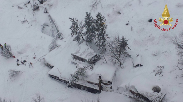 AS IT HAPPENED: Three bodies recovered, more feared dead at avalanche-struck hotel
